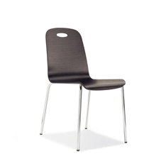 Design Chair with multilayer shell